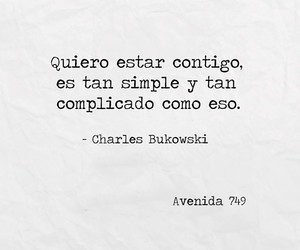 Bukowski, frases, and simple image