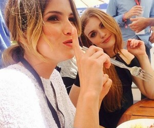 holland roden, teen wolf, and shelley hennig image