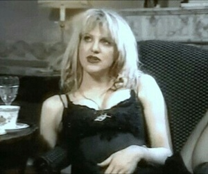 90's, Courtney Love, and grunge image