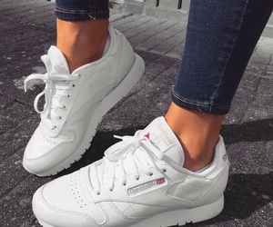 shoes, reebok, and sneakers image