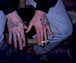 grunge, tattoo, and boy image