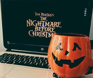 pumpkin, nightmare before xmas, and themes image
