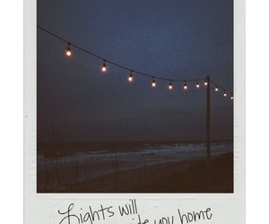 light, home, and quotes image