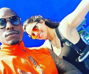behind the scene, michelle rodriguez, and tyrese gibson image