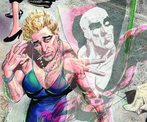 comics, Constantine, and john constantine image