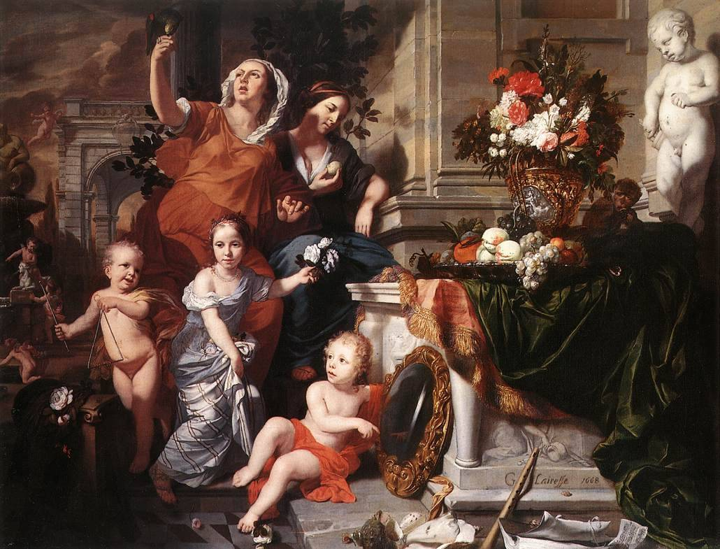 17th century, allegory, and art image