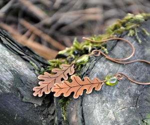 etsy, fall, and oak leaves image