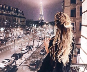 paris, girl, and city image