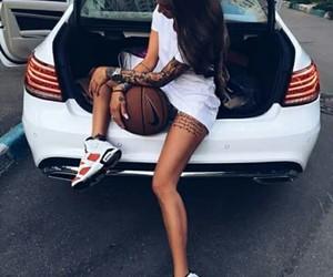 basket and girl image