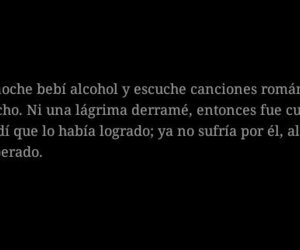 alcohol, amor, and desamor image