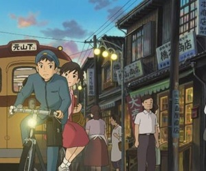 studio ghibli, from up on poppy hill, and anime image