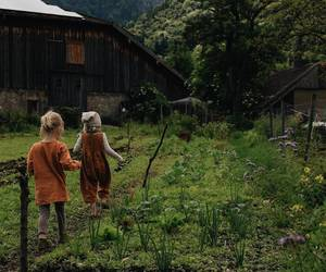 kids, child, and farm image