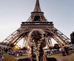 paris, hair, and hairstyle image