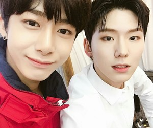 kihyun, hyungwon, and monsta x image