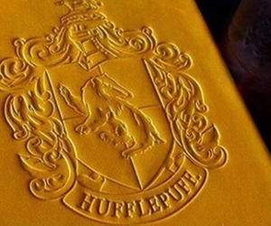 hogwarts, yellow, and hufflepuff image