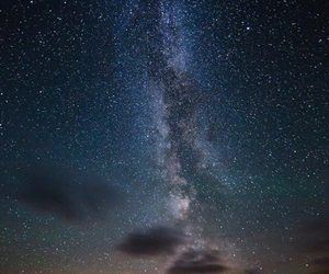 earth, landscape, and milky way image