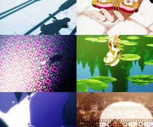 anime, kaleidoscope, and ashita no nadja image