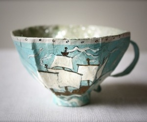 paper mache and teacup image