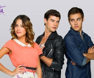 violetta, diego, and jorge blanco image