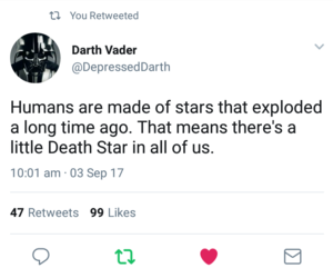 darth vader, death star, and quote image