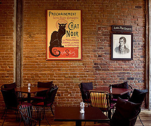 brick, cafe, and canada image