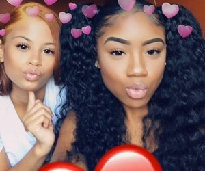 beauty, best friends, and baddies image