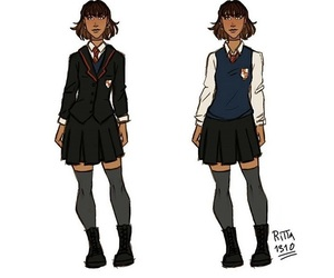uniform and bailey queen image