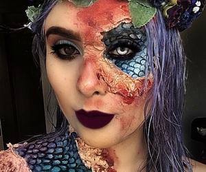 Halloween, makeup, and maquiagem image