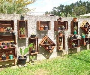 garden, diy, and plants image