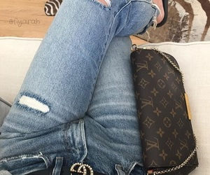 clothes, gucci, and Louis Vuitton image