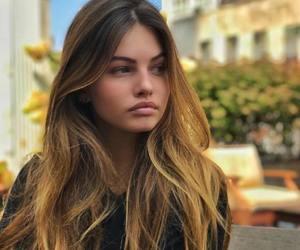 girl, hair, and thylane blondeau image
