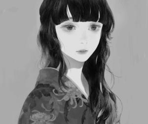 art, kimono, and cute image