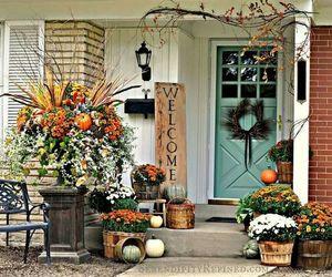 autumn, fall, and fall decoration image