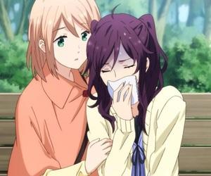 anime, manga, and rainbow days image