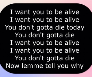 logic, music, and suicide image