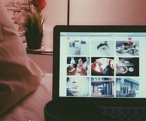 alone, coffee, and night image