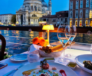 dining, luxury, and food image