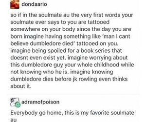 funny, harry potter, and soulmate image