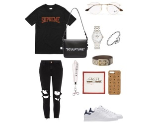 gucci, off-white, and ray-ban image
