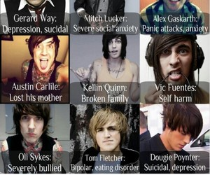 kellin quinn, vic fuentes, and mitch lucker image