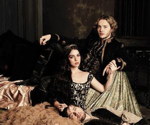 reign, mary, and sebastian image