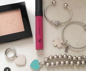 bracelets, girly, and jewelry image