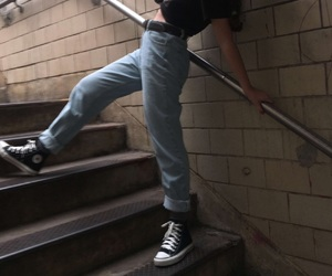 90's, american apparel, and converse image