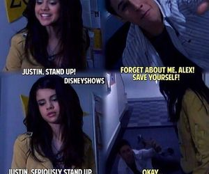 selena gomez, funny, and alex russo image