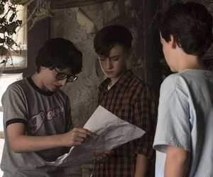 finn wolfhard, jaeden lieberher, and it image