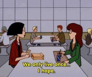 Daria, 90s, and grunge image
