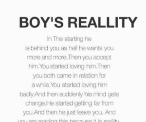 boys, quotes, and reality image
