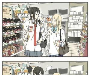 tamen de gushi, yuri, and anime image
