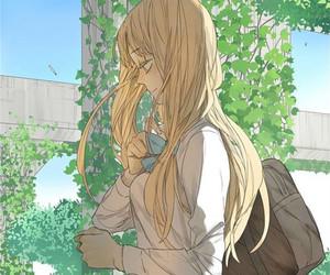 girl, tamen de gushi, and manga image