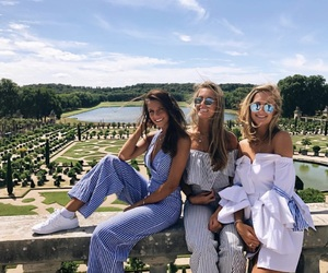 france, friend, and girl image